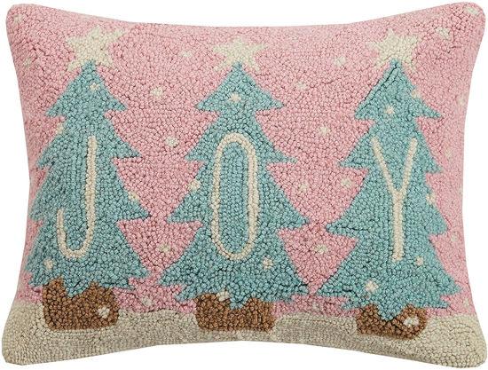 Joy Trees Pillow by Peking Handicraft