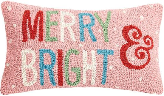 Merry & Bright Pillow by Peking Handicraft